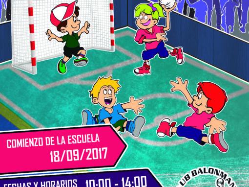 Cartelería & Ilustración – Club Balonmano Almendralejo