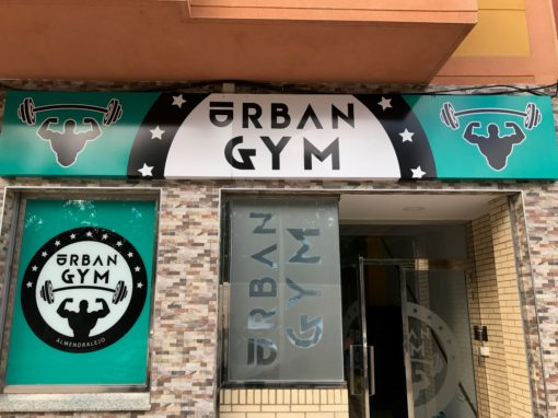 Rotulación – Gimnasio «Urban Gym»