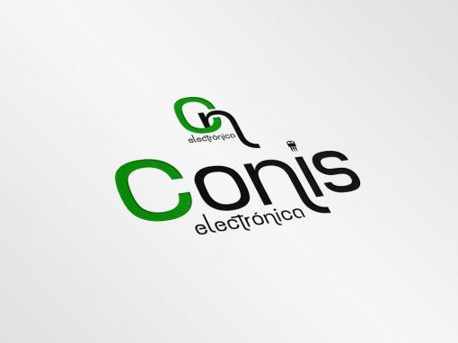 Diseño de logotipo – Conis Electrónica