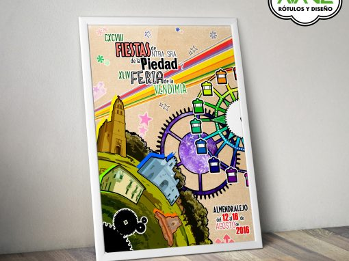 Diseño – Cartel Feria de Almendralejo