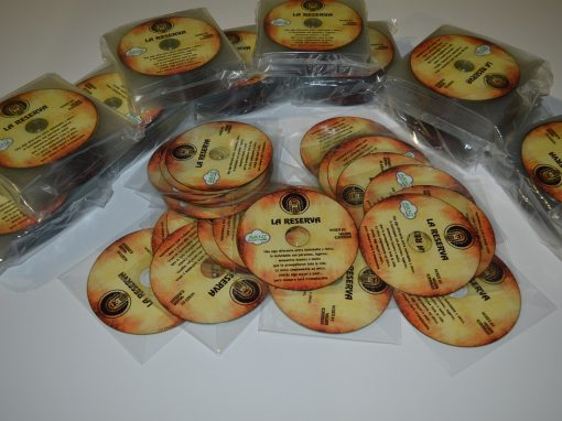 Merchandising – Discos Discoteca «La Reserva»