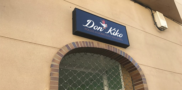 Rotulación – Tienda Don Kiko