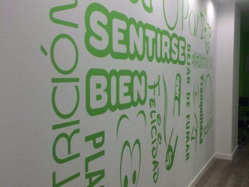 Rotulación Interior – Letras
