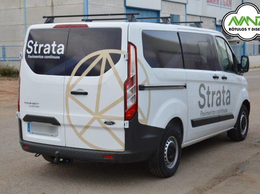 Rotulación vehículo – Strata