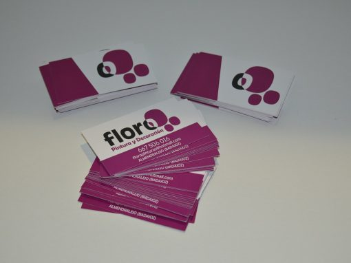 Tarjetas de presentación – Floro
