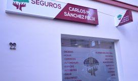 Rotulación Exterior - Seguros Carlos M.