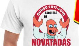 Diseño de camisetas personalizado - Novatadas